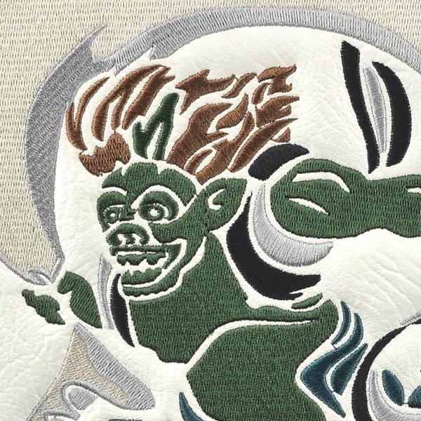 ★新品1円スタート!!◎2019年NEWモデル★ブルームーン 風神雷神 WH 9型 ゴルフ キャディバッグ(残りわずか)_画像4