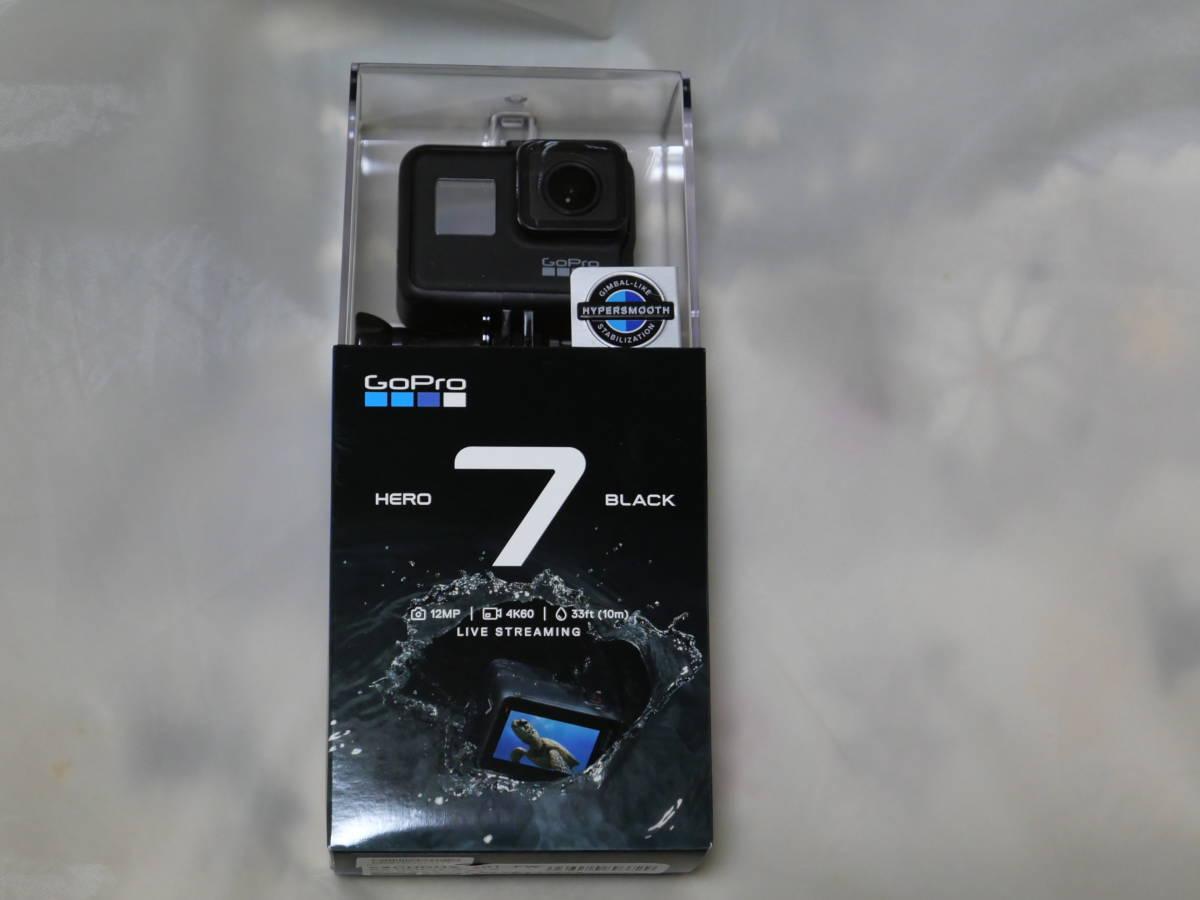 【新品】GoPro HERO7 BLACK CHDHX-701-FW ウェアラブルカメラ+デュアルバッテリーチャージャー他★国内正規品★ヨドバシ購入品_画像2