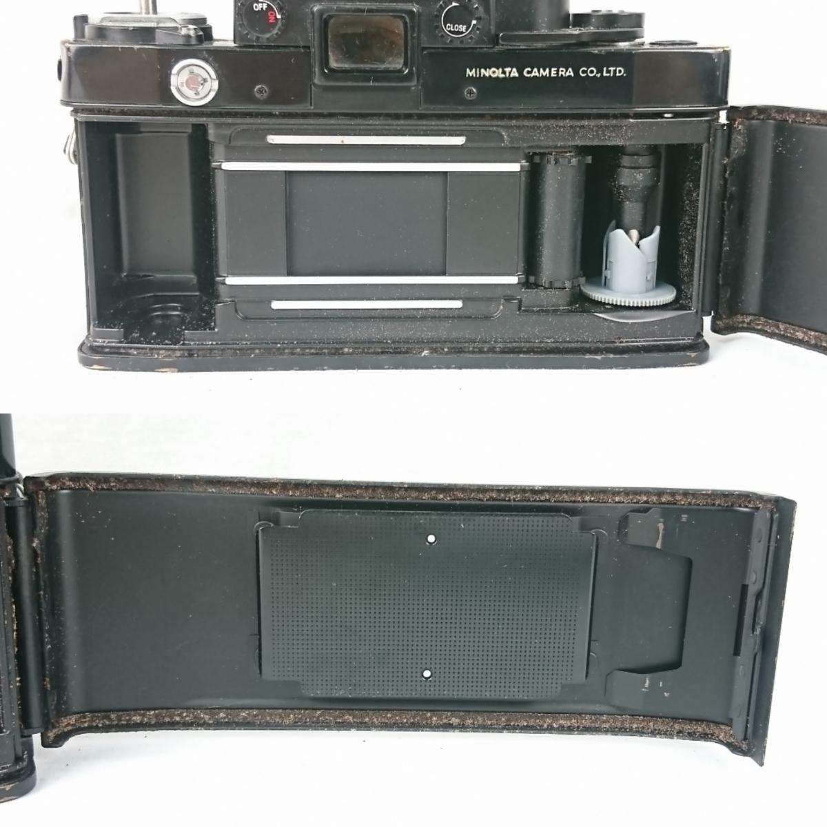 【GK-542】 名機! MINOLTA ミノルタ X-1 一眼レフ フィルムカメラ MC TELE ROKKOR-PF 1:2.8 f=135mm/ MC FISH-EYE ROKKOR-OK 1:2.8 f=16mm _画像6