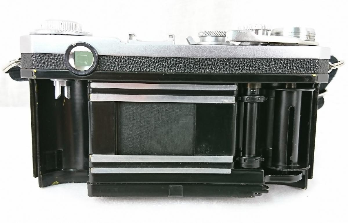 【GK-567】 Nikon ニコン S2 前期型 レンジファインダー カメラ レンズ Nippon kogaku japan NIKKOR-H・C 1:2 f=5cm クラシックニコン _画像6