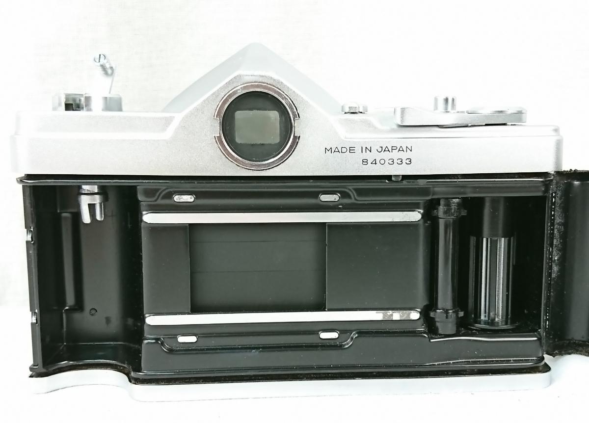 【GU-354】 KONICA コニカ AUTOREX P 一眼レフ フィルムカメラ コニカオートレックス レンズ KONICA HEXANON 1:1.8 f=52mm 840333_画像6