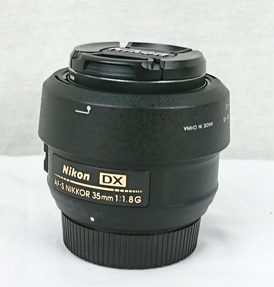 【GY-180】Nikon ニコン レンズ Nikon DX AF-S NIKKOR 35mm 1:1.8G 単焦点 レンズ / Niko