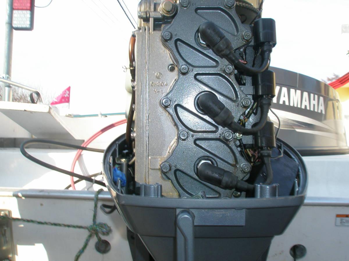 ◆YAMAHA◆ヤマハ製 6H22サイクル 60馬力(L足) 点検整備済 ◆_画像9