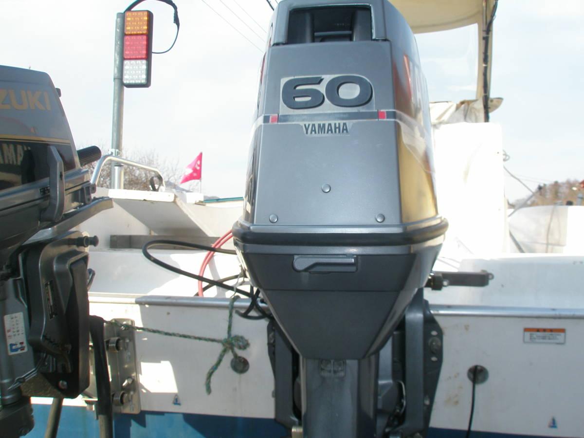 ◆YAMAHA◆ヤマハ製 6H22サイクル 60馬力(L足) 点検整備済 ◆