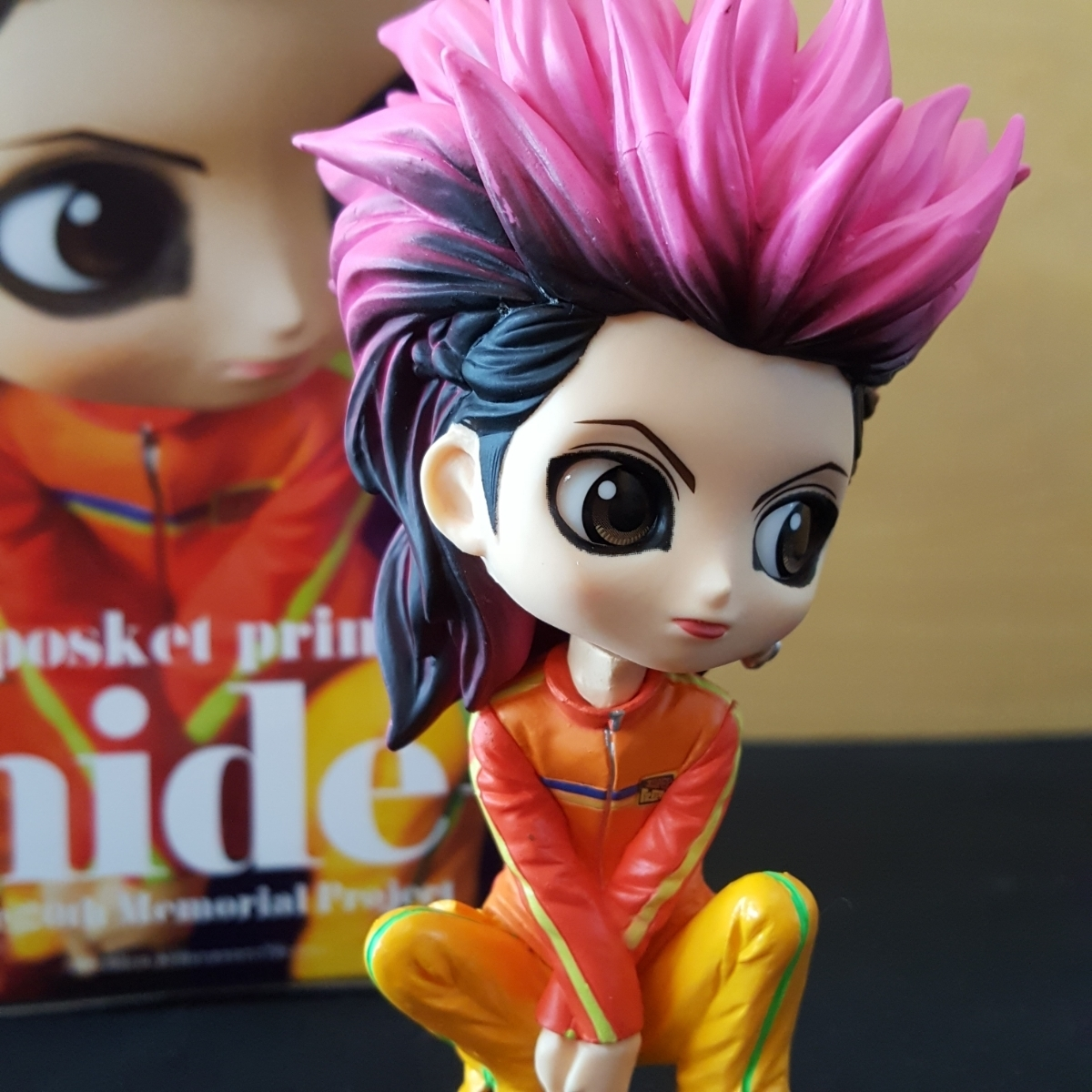 HIDE Qposket フィギュア 極美品 X JAPAN prince hide ヒデ ノーマルカラーver. 20th Memorial Project _画像4