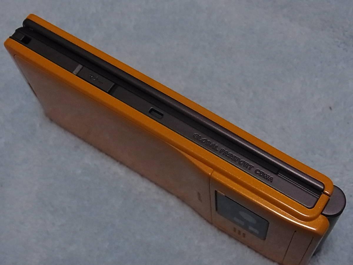 44b15f87c9 代購代標第一品牌- 樂淘letao - レア美品即決CASIO au CA007 オレンジ ...