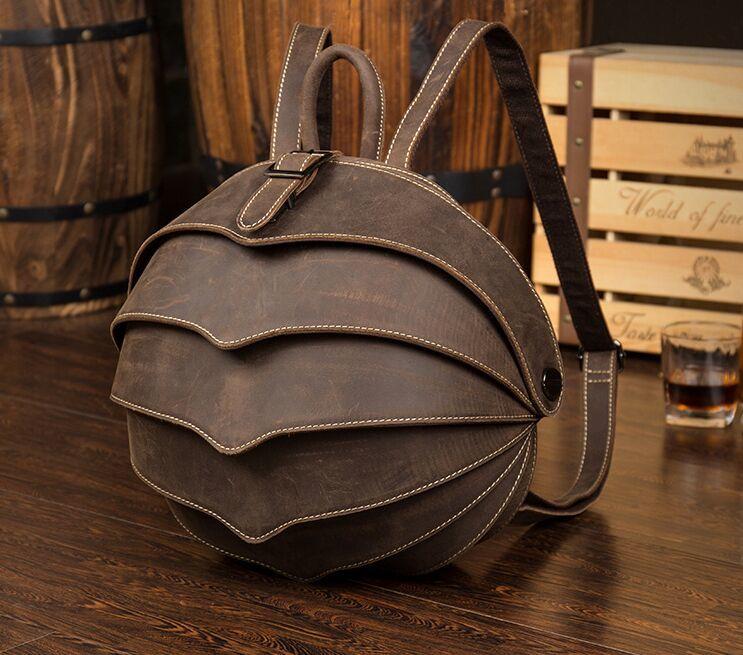 ♪【定価58万】♪高級手工芸品 本革100%バックパック 多功能スポーツバックパック トラベルバッグ スクールバッグ コンピューターバッグ