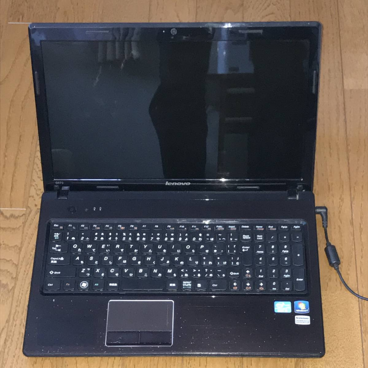 ジャンク Lenovo ノートパソコン G570 4334_画像2