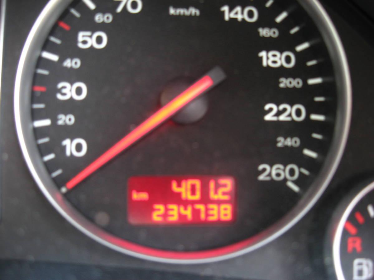アウディ234000km以上(1800CCターボ車)