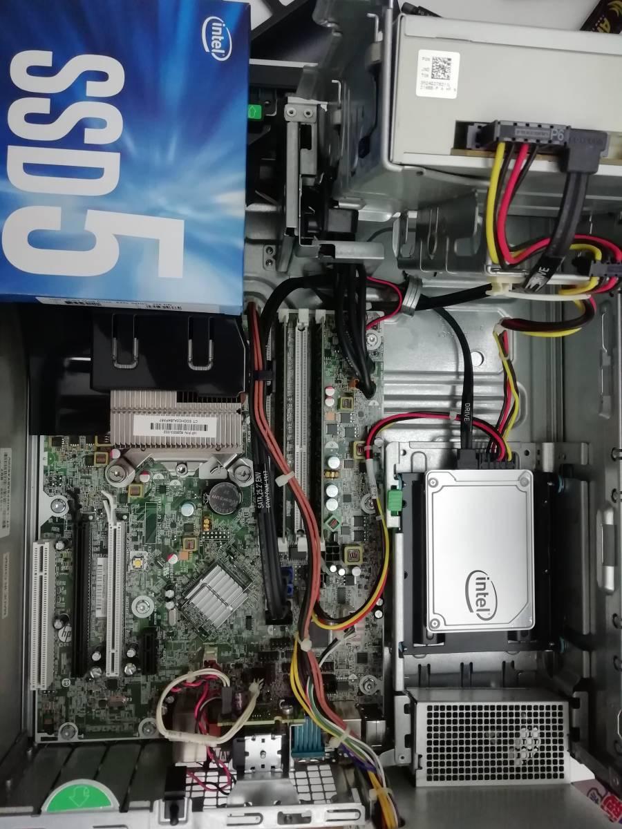 【高速PC】HP Elite 8300 Windows 10 Pro SSD換装【Intel AMT対応】_画像4