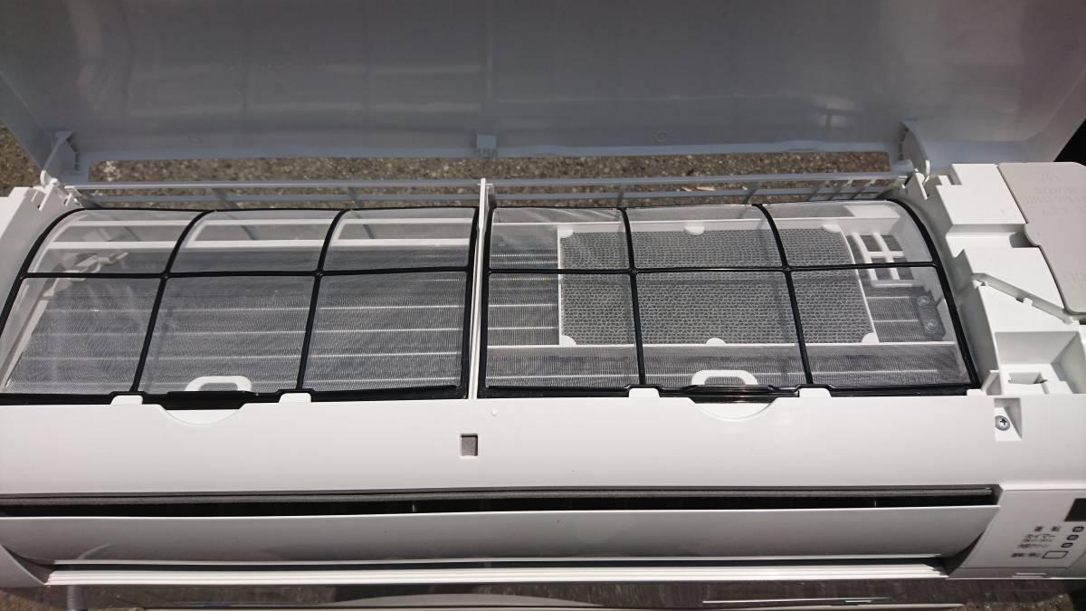 ダイキン DAIKIN ルームエアコン 2015年 2.2kw ~8畳 光速ストリーマー搭載 ATE22SSE3 美品 引き取り歓迎 その1