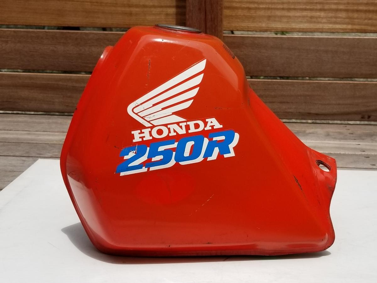 タンク内キレイ XLR250R MD22 純正 フューエルタンク ガソリンタンク HONDA/MD22_画像3