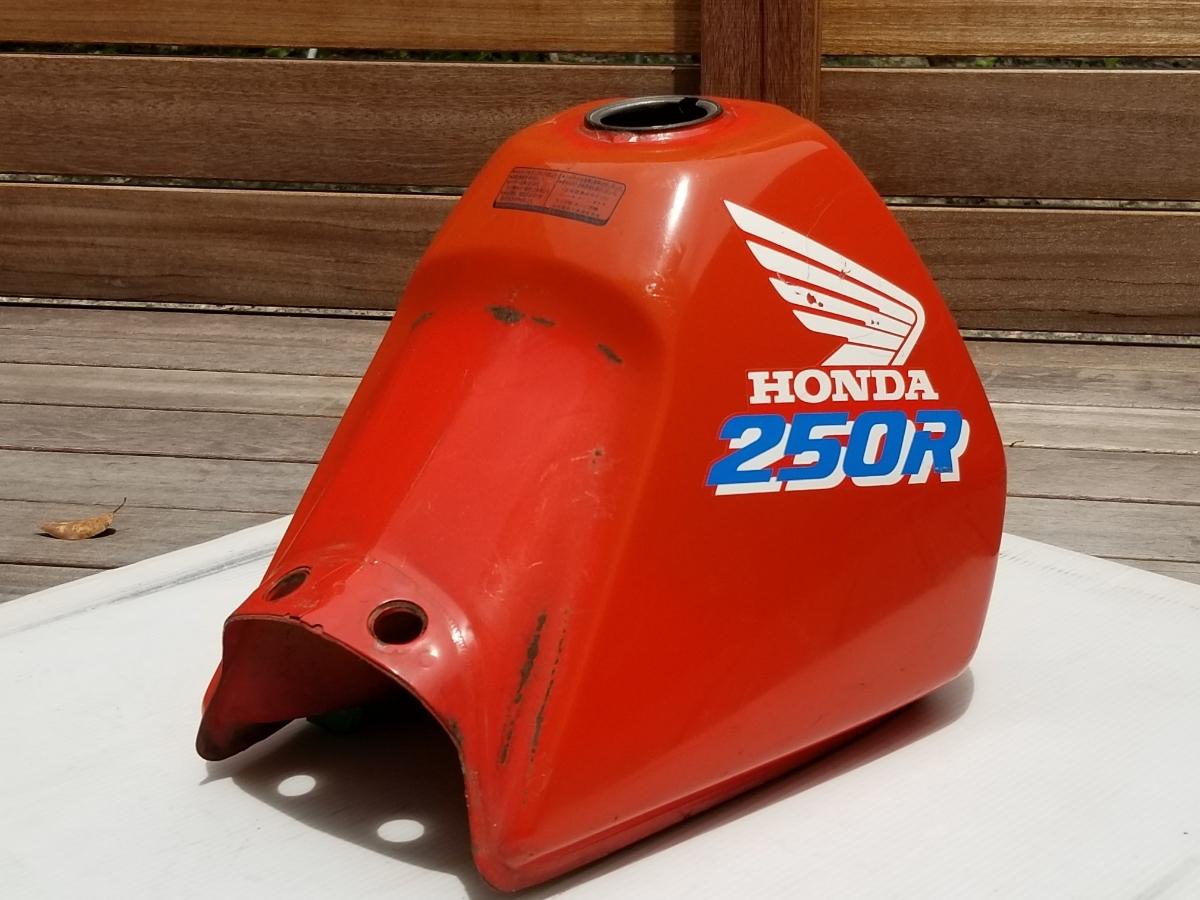 タンク内キレイ XLR250R MD22 純正 フューエルタンク ガソリンタンク HONDA/MD22_画像6