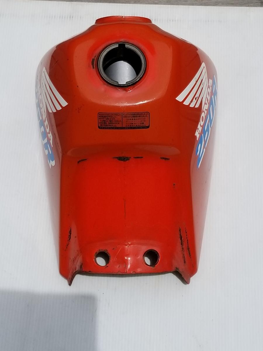 タンク内キレイ XLR250R MD22 純正 フューエルタンク ガソリンタンク HONDA/MD22_画像9