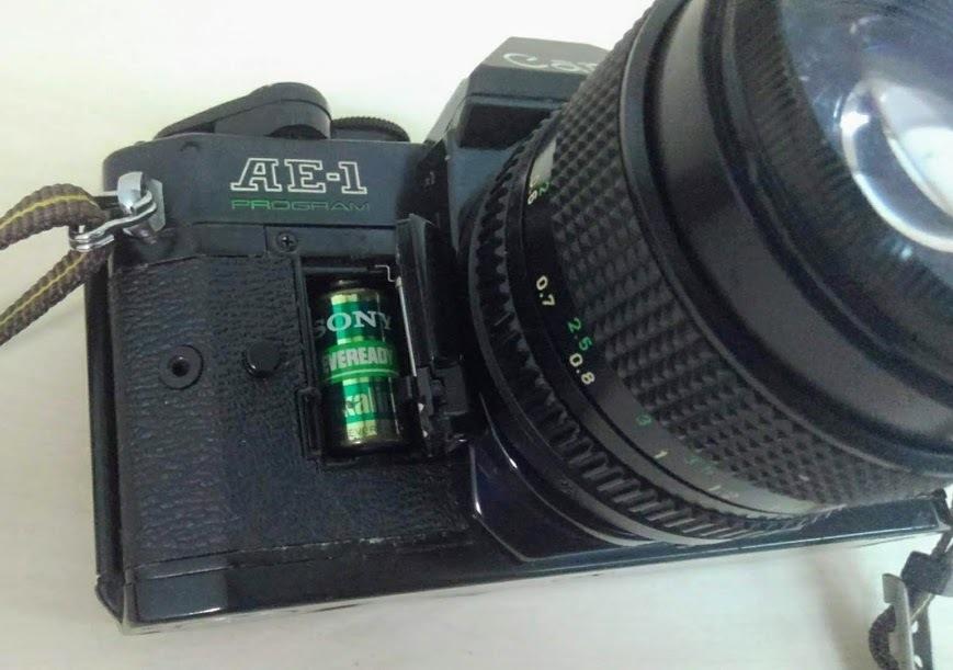 ☆ Canon/キヤノン AE-1 PROGRAM+CANON LENS NEW FD 50mm F1.4 フィルムカメラ 一眼レフカメラ ブラック レンズ付_画像7