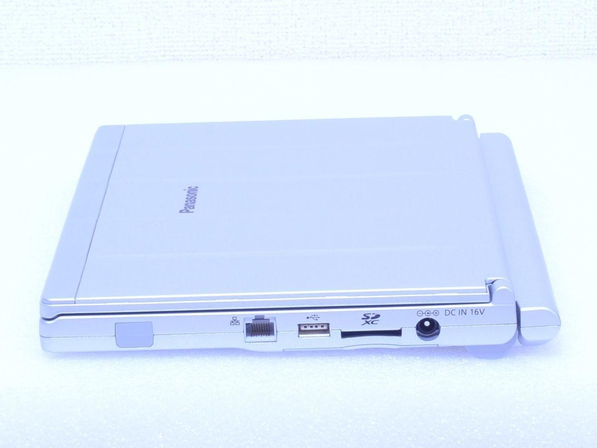 ★ Panasonic Let's note CF-SX4EDHCS / Core i5 / メモリ 8GB / SSD512GB / スーパマルチ / カメラ / Bluetooth / Office Win10_画像4