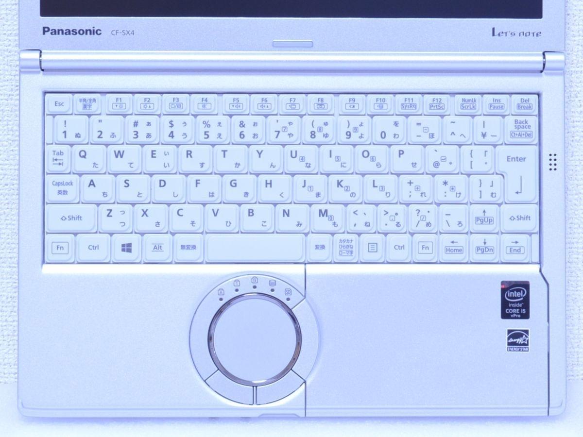 ★ Panasonic Let's note CF-SX4EDHCS / Core i5 / メモリ 8GB / SSD512GB / スーパマルチ / カメラ / Bluetooth / Office Win10_画像5