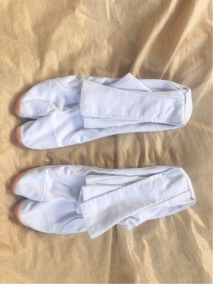 【飛脚足袋】 エアークッション足袋 7枚コハゼ 白 新品未使用 送料510円 祭 神輿 26㎝_画像7