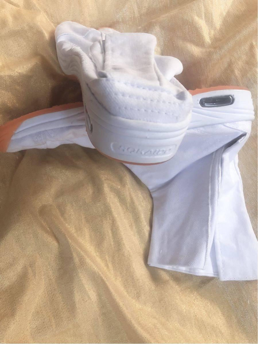 【飛脚足袋】 エアークッション足袋 7枚コハゼ 白 新品未使用 送料510円 祭 神輿 26㎝_画像6