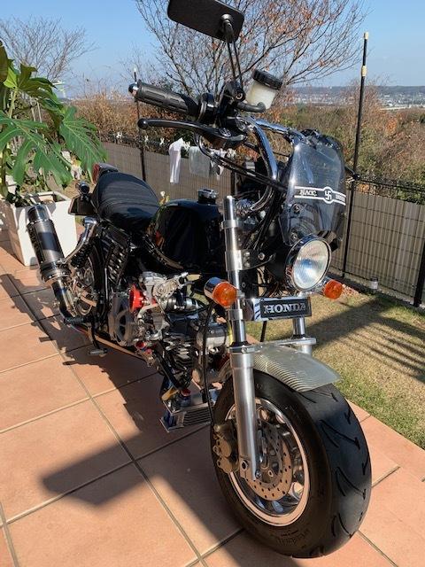 「モンキー DOHC フルカスタム」の画像3