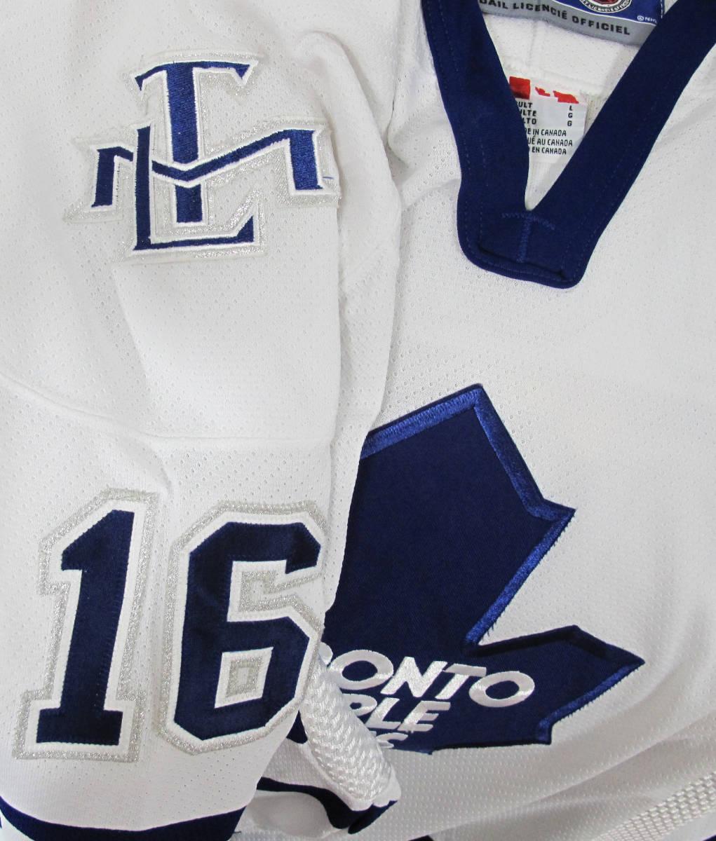 新品 NHL TORONTO MAPLE LEAF『DARCY TUCKER #16』 ジャージ カナダ製 STANLEY CUP アイスホッケー HIP HOP_画像4