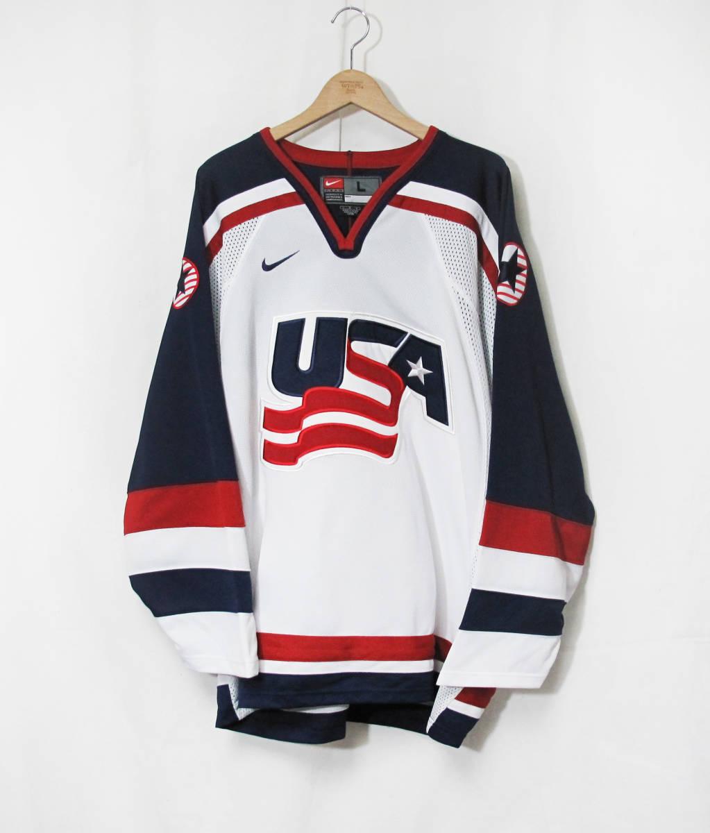 新品 NIKE 『TEAM USA』 ジャージ 海外限定 ナイキ NHL ICE HOCKEY アイスホッケー HIP HOP STANLEY CUP ALL-STARS
