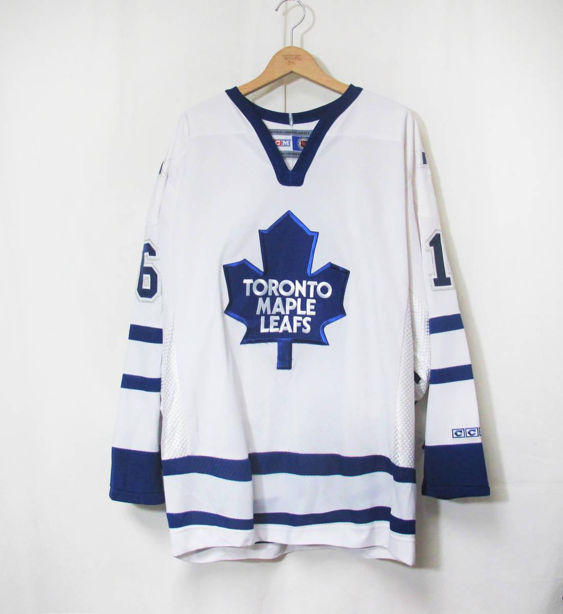 新品 NHL TORONTO MAPLE LEAF『DARCY TUCKER #16』 ジャージ カナダ製 STANLEY CUP アイスホッケー HIP HOP