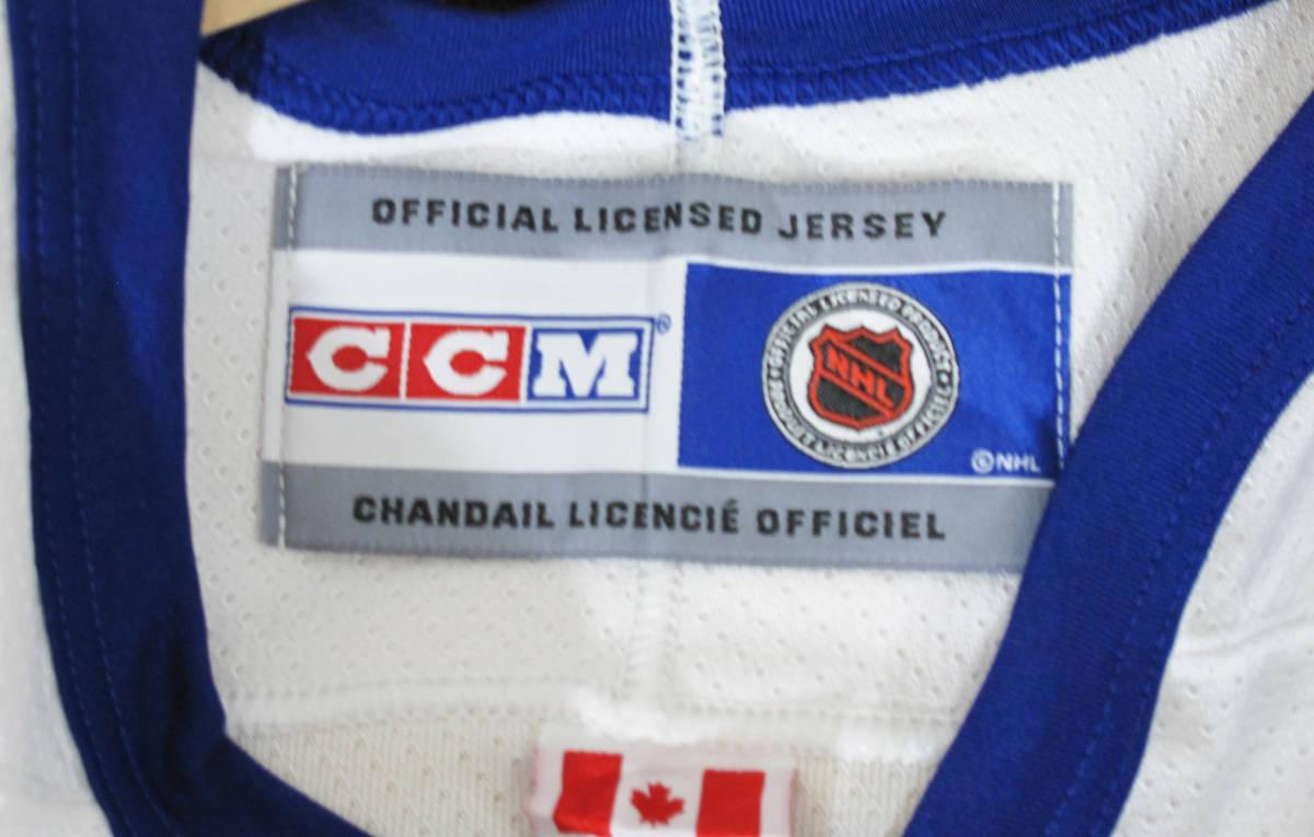 新品 NHL TORONTO MAPLE LEAF『DARCY TUCKER #16』 ジャージ カナダ製 STANLEY CUP アイスホッケー HIP HOP_画像3