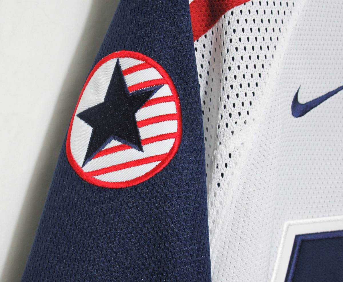 新品 NIKE 『TEAM USA』 ジャージ 海外限定 ナイキ NHL ICE HOCKEY アイスホッケー HIP HOP STANLEY CUP ALL-STARS_画像4
