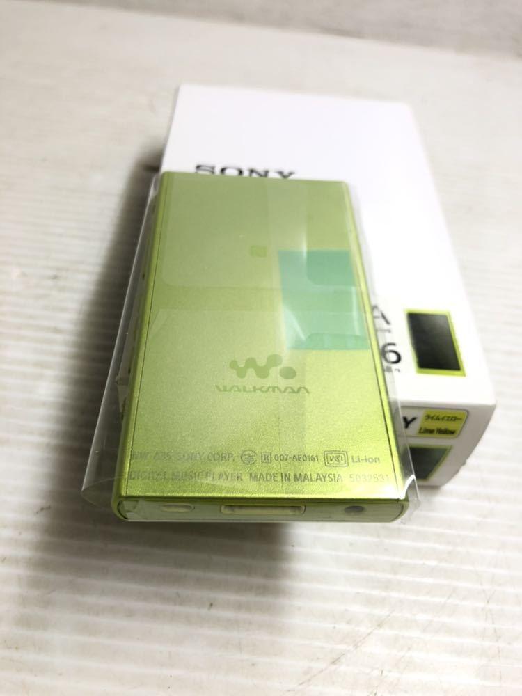 ※SONY/ソニーWALKMAN A16 NW-A35 イヤホン、付属品あり _画像3