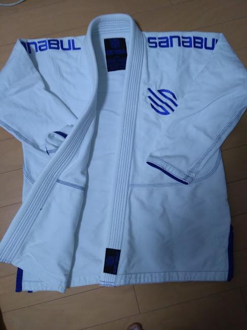 柔術着 柔術衣 柔道着 Sanabul Essentials v.2ウルトラライトBJJ Jiu Jitsu Gi with防縮加工 中古