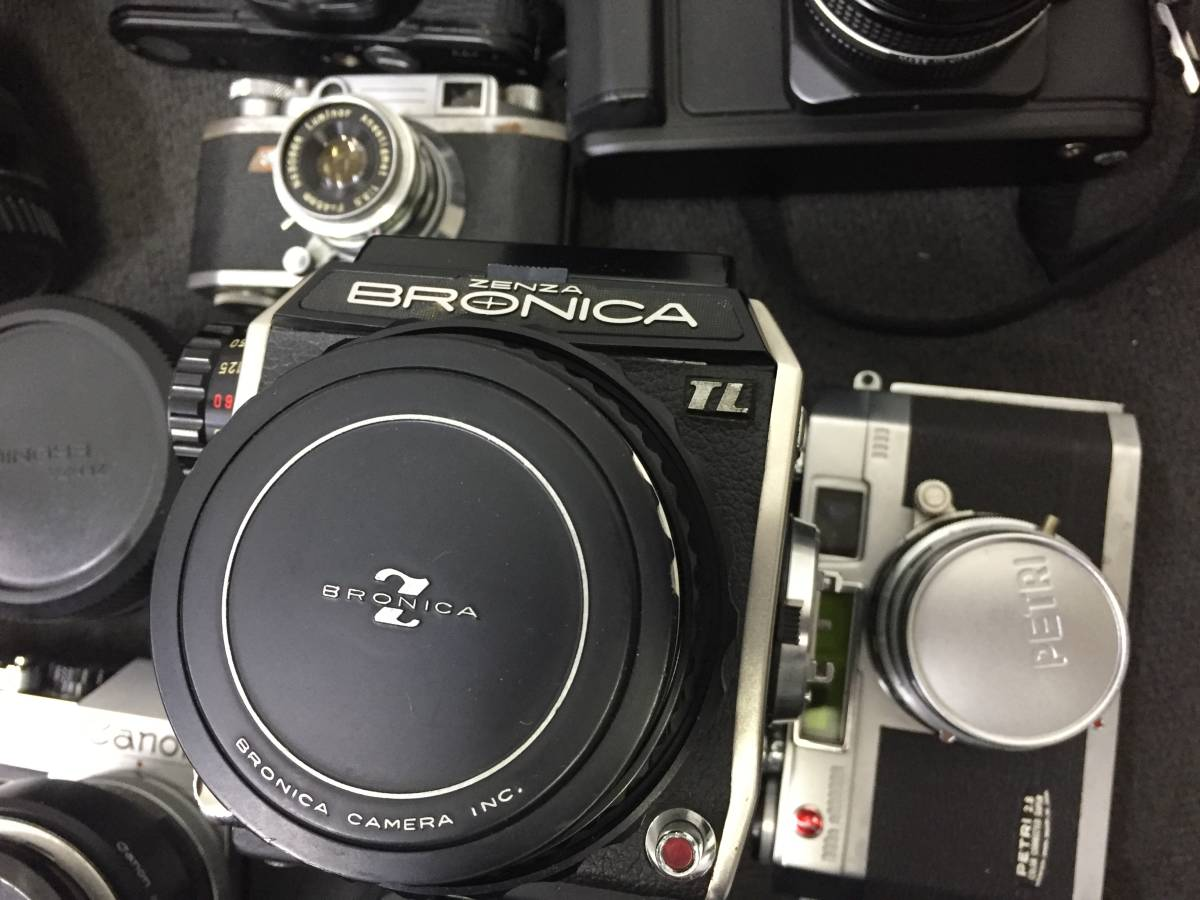 16778‐2-17935 カメラ ZENZA BRONICA Canon Nikon ボディ レンズ 他 大量おまとめ ジャンク品_画像5