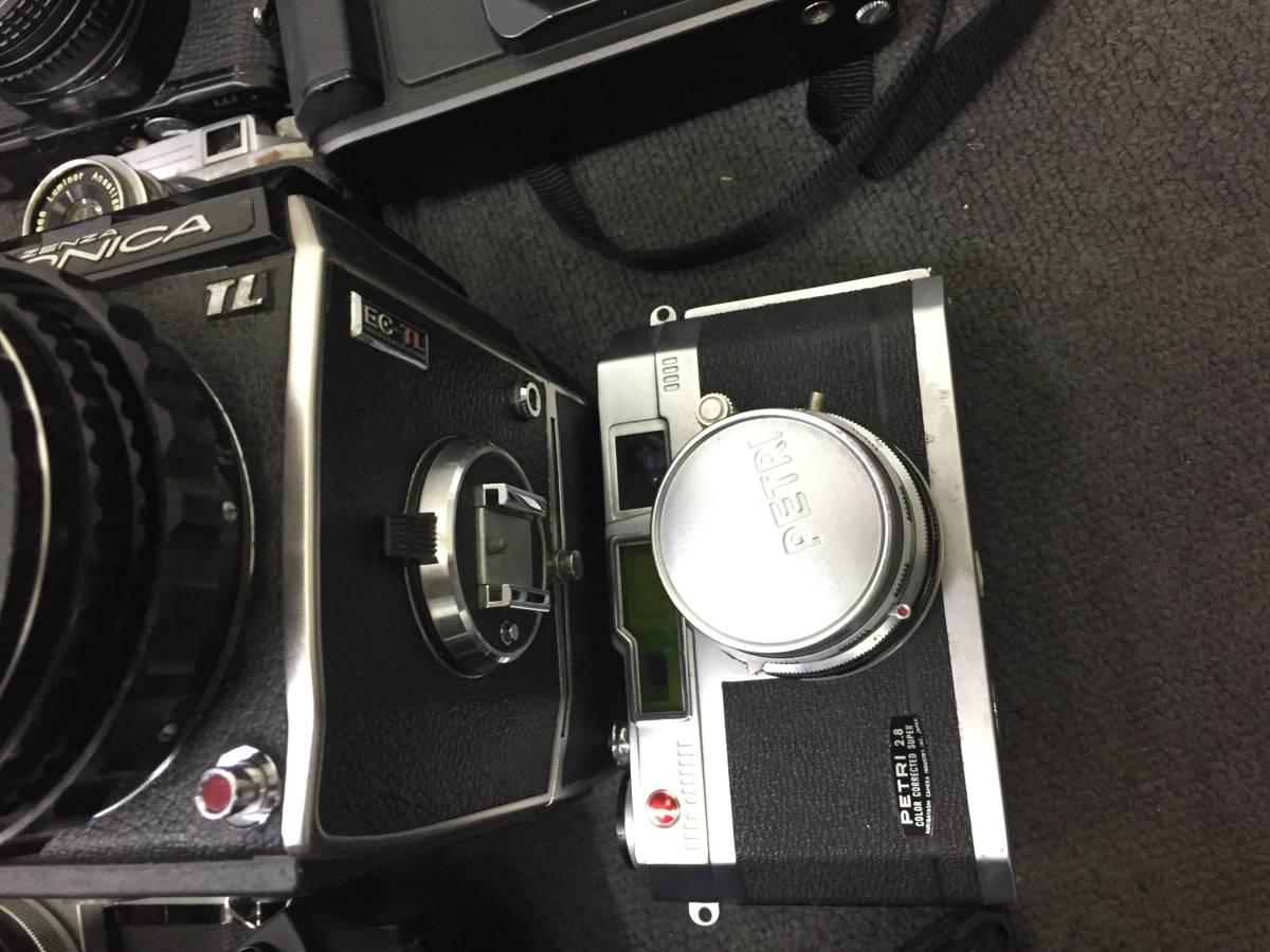 16778‐2-17935 カメラ ZENZA BRONICA Canon Nikon ボディ レンズ 他 大量おまとめ ジャンク品_画像6