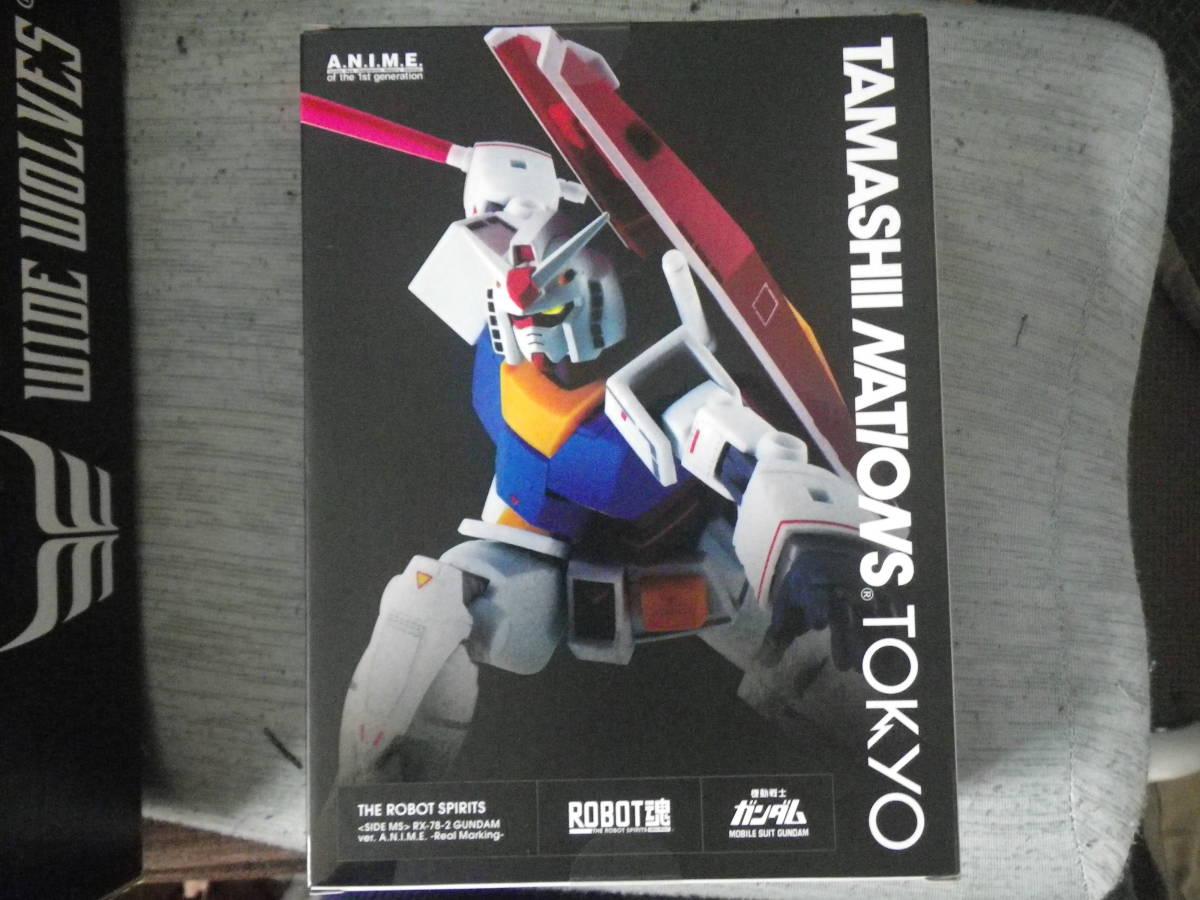 ROBOT魂 <SIDE MS> RX-78-2 ガンダム ver. A.N.I.M.E. ~リアルマーキング~「TAMASHII NATIONS TOKYO」限定商品