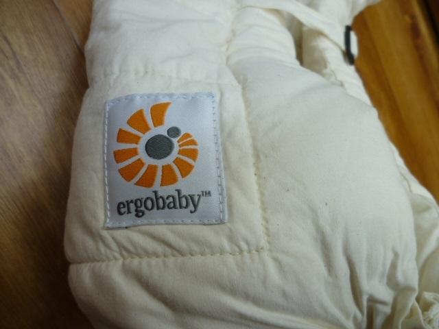 【新生児用 インファントインサート】ergobaby エルゴベビー ナチュラル ベビーキャリア 用_画像6