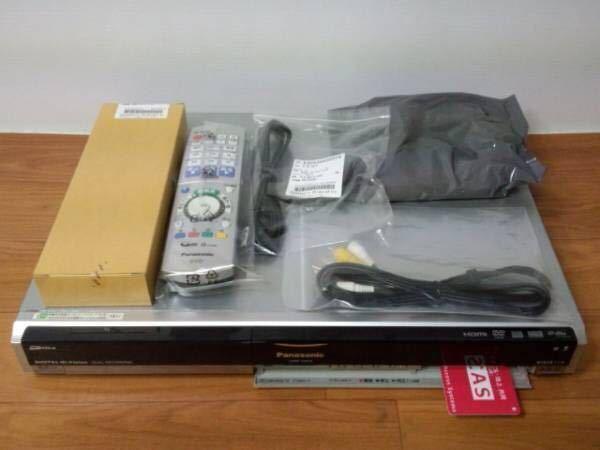 パナソニックDMR-XW31 地デジ・BS 2番組W録画 500GB 純正リモコン付 完動品_画像3