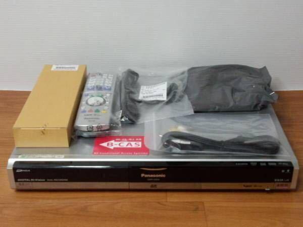 パナソニックDMR-XW31 地デジ・BS 2番組W録画 500GB 純正リモコン付 完動品