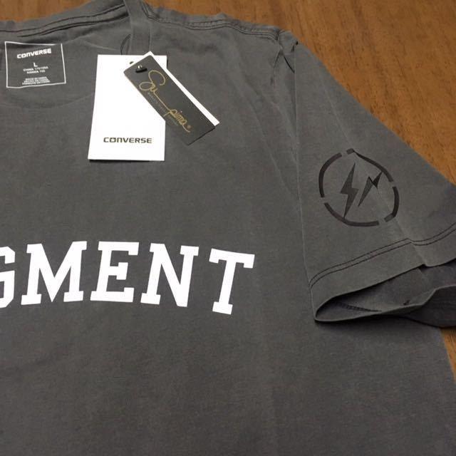 SIZE L FRAGMENT DESIGN x CONVERSE ESSENTIAL TEE フラグメントデザイン コンバース エッセンシャル Tシャツ_画像3