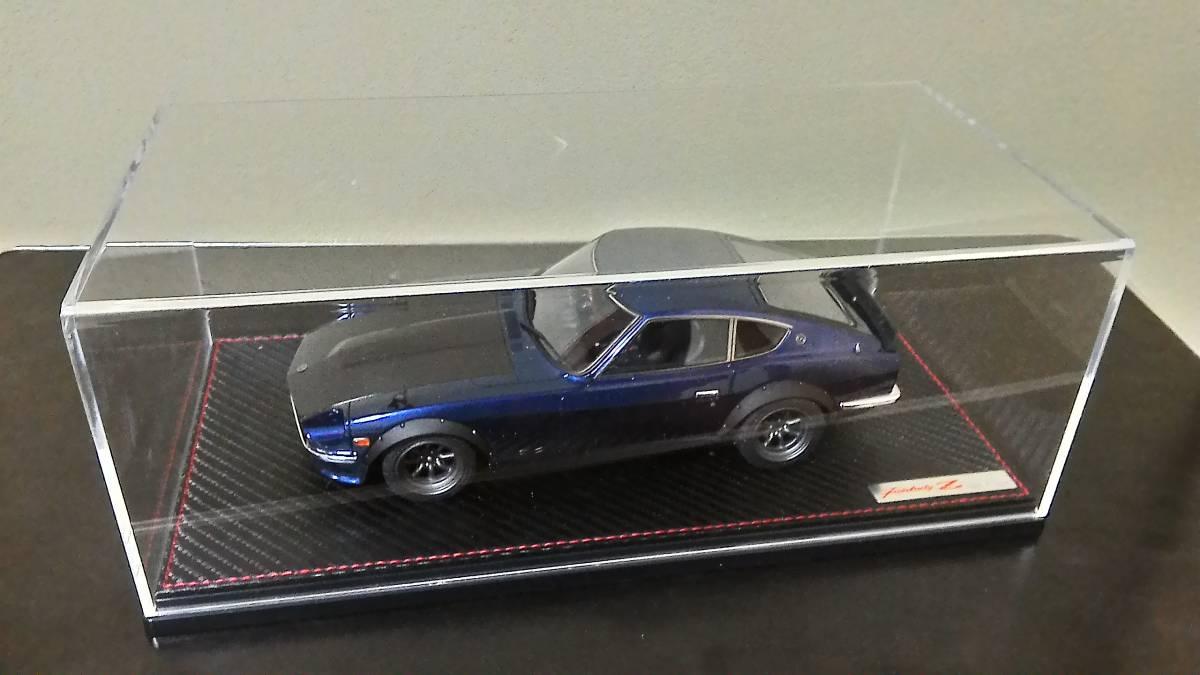 希少 未展示 イグニッションモデル 1/18 ニッサン フェアレディZ (S30) ブルー IG0359 オンラインショップ限定