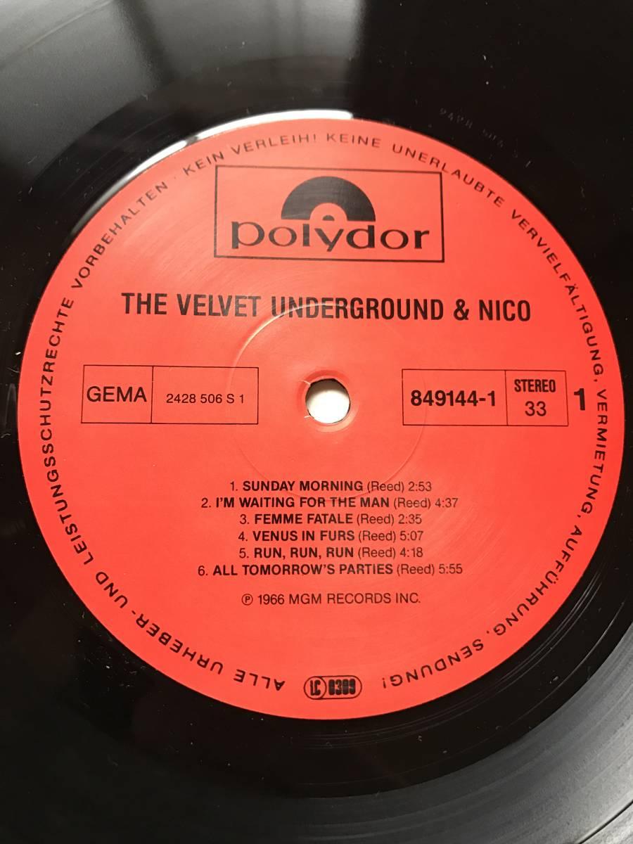 THE VELVET UNDERGROUND & NICO / ヴェルヴェット・アンダーグラウンド ANDY WARHOL 849 144-1_画像3