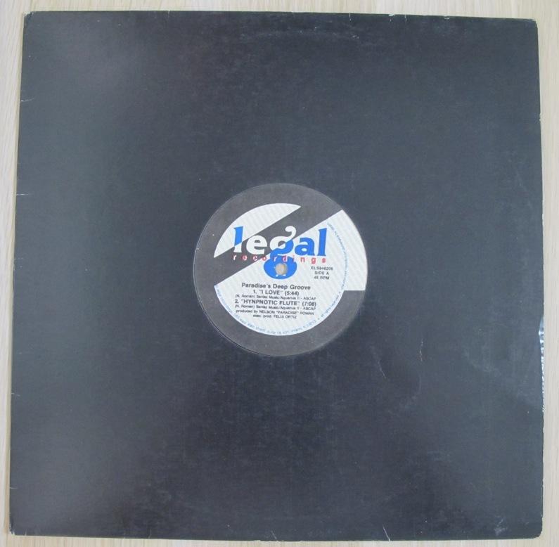 "Paradise's Deep Groove I Love 12インチ (US / 1992年 / E Legal ELS846206) (Nelson ""Paradise"" Roman)_画像3"