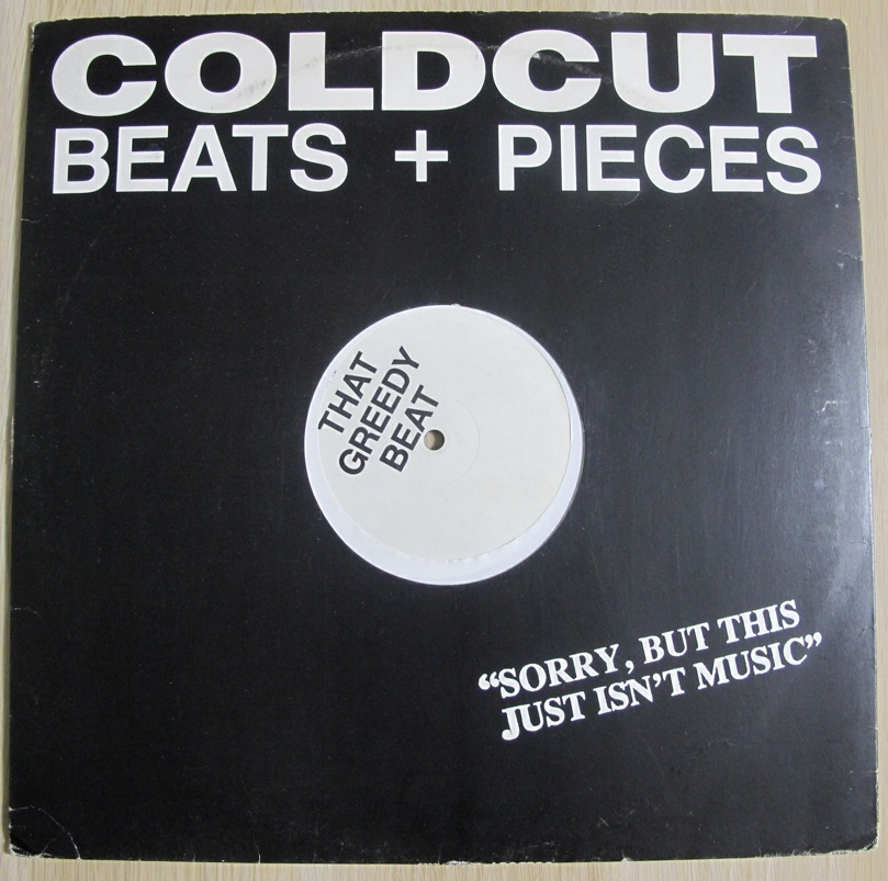 COLDCUT - BEATS + PEACES (MO' BASS REMIX) / THAT GREEDY BEAT 12インチ (UK/ 1987年 / Ahead Of Our Time CCUT 1A)(CUT & PASTE)_画像2