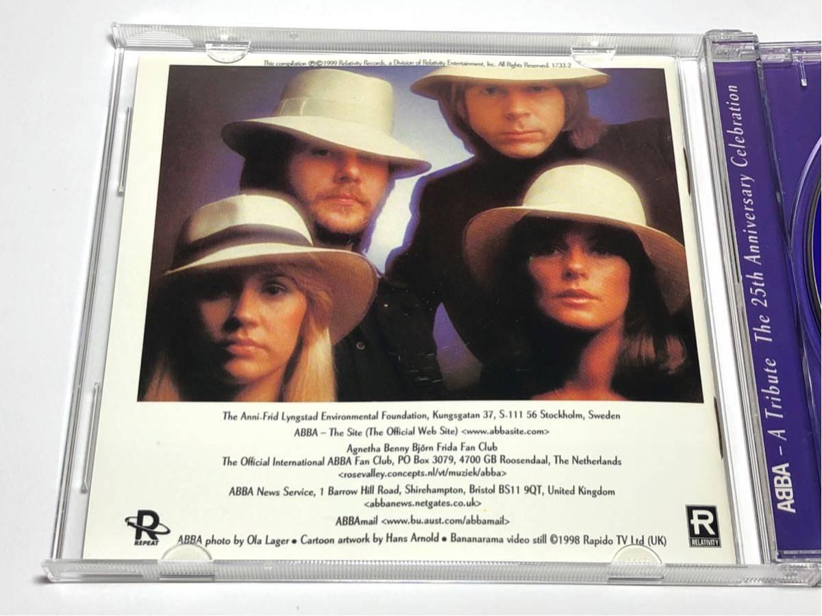 ☆輸入盤CD 1733-2 Abba - A Tribute: The 25th Anniversary Celebration_画像4