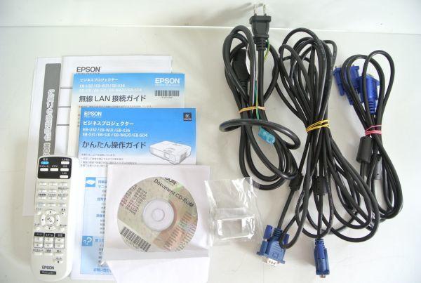 S/ EPSON エプソン ビジネスプロジェクター EB-S04 元箱有り_画像2