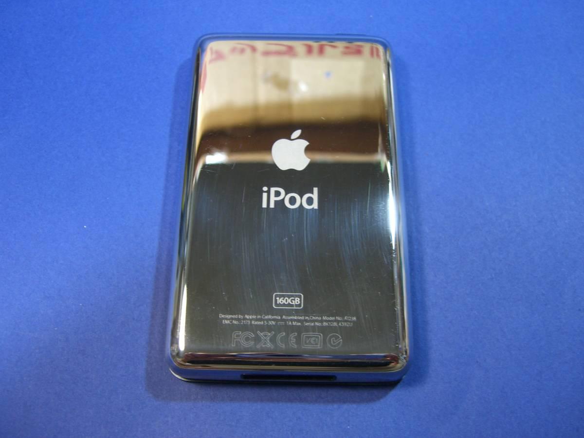 iPod classic 160GB ブラック MC297J/A 5f9_画像4