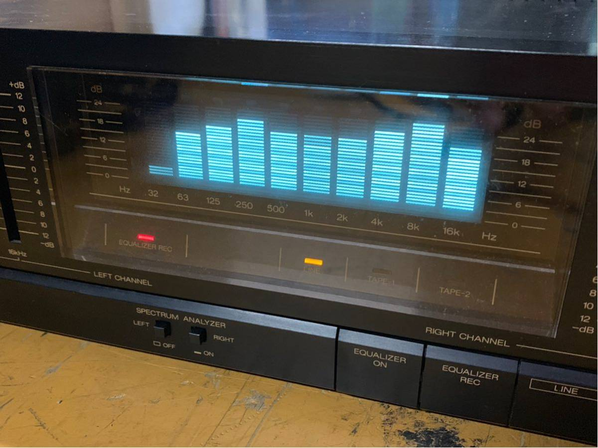 SANSUI SE-80 イコライザー ジャンク扱い チェック時音変化しました801_画像9