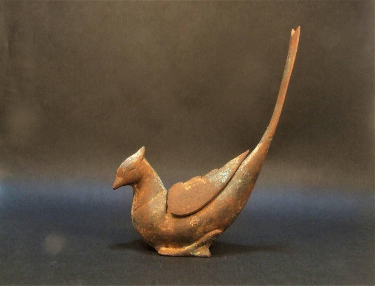鉄製 鳥形香炉_画像2