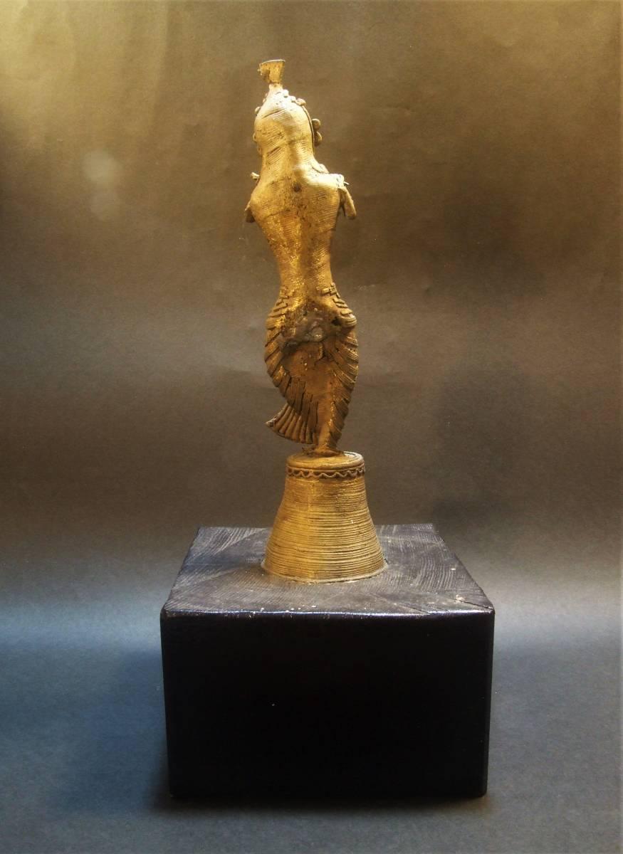 銅製 クシュリナ像 古代インド ヒンドゥー教_画像5