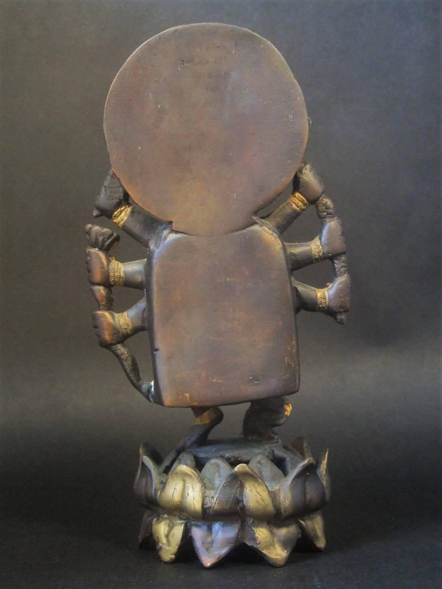 銅製 ガネーシャ像 ハピ _画像5