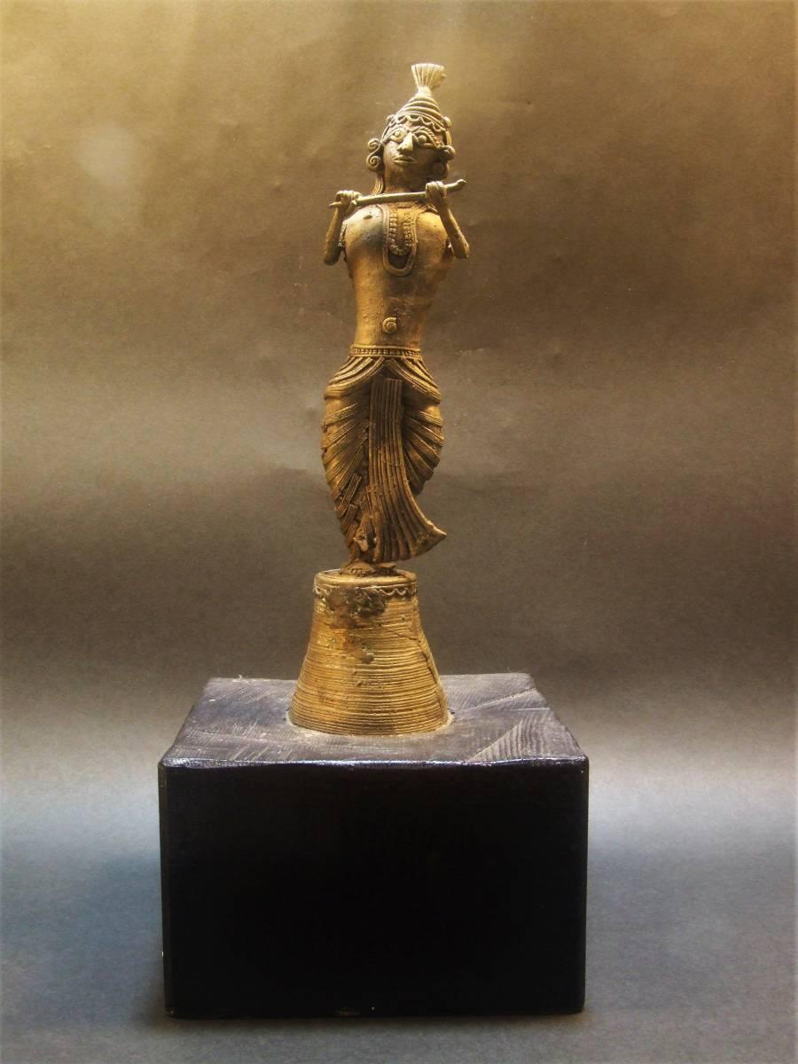 銅製 クシュリナ像 古代インド ヒンドゥー教_画像2
